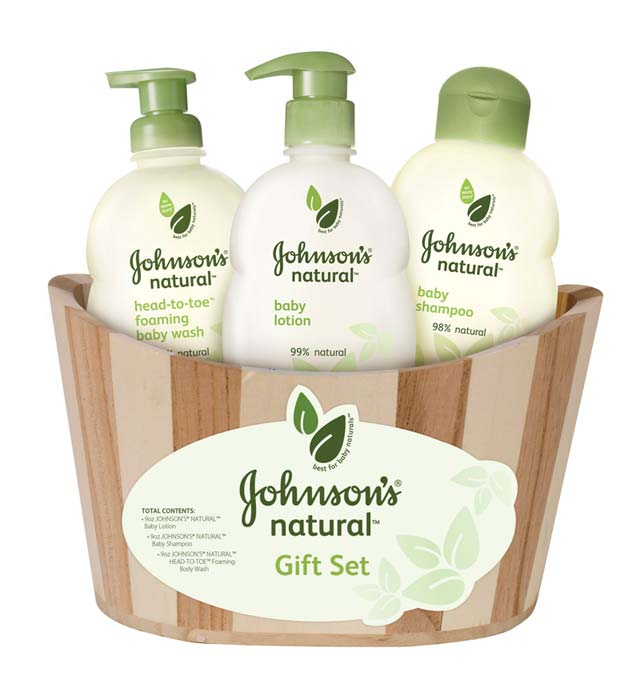 Amazon.com: Johnson's Natural Gift Basket: Health & Personal Care