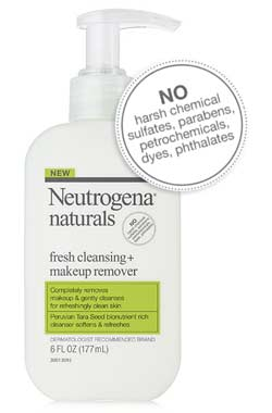 Neutrogena Naturals Fresh Cleansing + Makeup Remover product shot