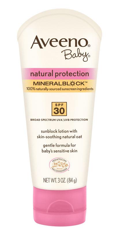 Amazon Com Aveeno Baby Natural Protection Spf 30 Lotion