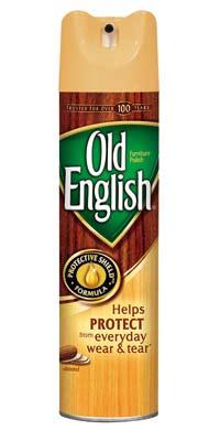 OLD ENGLISH Almond Furniture Polish Aerosol (12.5 Ounces, Pack of 12) Product Shot