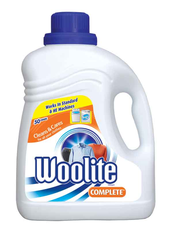 woolite in high efficiency washing machine