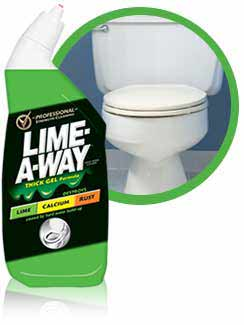 limeaway toilet bowl cleaner liquid 24 ounces product shot