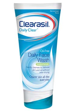 CLEARASIL® Daily Clear Oil Free Daily Face Wash for Sensitive Skin (6.5 Ounce) Product Shot