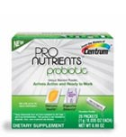 Centrum ProNutrients Probiotic, 28-Count