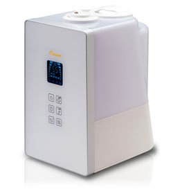 Crane Germ Defense Cool and Warm Mist Humidifier, Digital Operation Product Shot