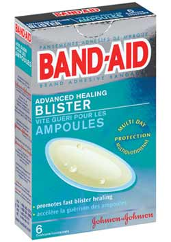 BAND-AID Brand Adhesive Bandages, Advanced Healing Blister Cushions, Multi-Day Protection (6-Count Boxes, Pack of 2) Product Shot