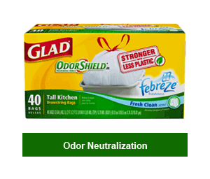 Delicieux Glad Odor Neutralization Glad Stretchable Strength ...