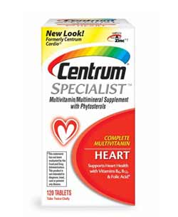 Centrum Specialist Heart 120 CT Product Shot