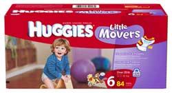 HUGGIES Snug & Dry Diapers Product Shot
