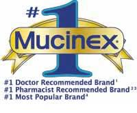 #1 Mucinex