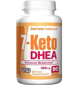 Jarrow Formulas 7-Keto DHEA, 100mg, 90 Capsules Product Shot