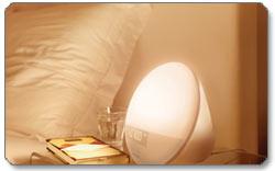 Philips Wake-Up Light Product Shot
