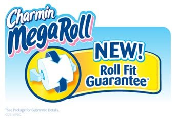 Charmin Mega Roll New Fit Guarantee See Package For Details