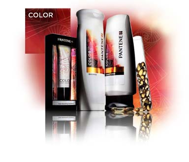 Pantene Pro-V Color Hair Solutions.