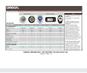 Compare full line of Omron Pedometers