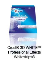 Crest® 3D WHITE™ Professional Effects Whitestrips®
