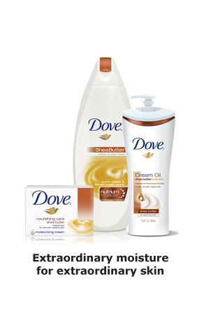 Dove® Cream Oil - Extraordinary moisture for extraordinary skin