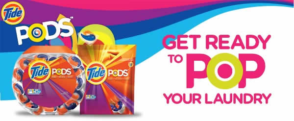 New Tide Pods - Get ready to POP your laundry
