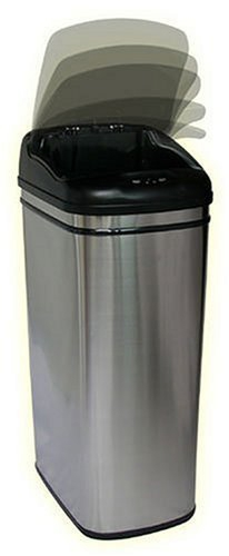 Amazon Com Itouchless 13 Gallon Stainless Steel Automatic
