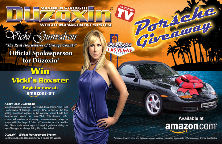 Duzoxin Porsche Giveaway Sweepstakes