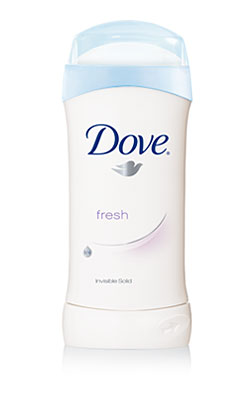 Dove Invisible Solid, Fresh