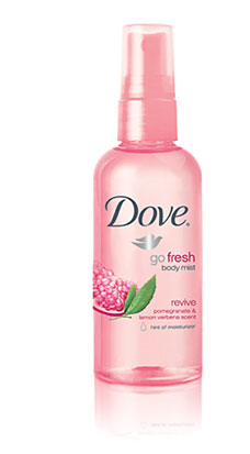 Dove go fresh Revive Body Mist