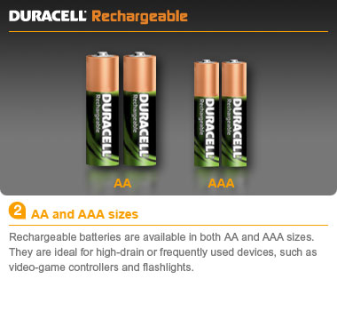 duracell rechargeable aa nimh batteries. Black Bedroom Furniture Sets. Home Design Ideas