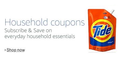 Laundry Detergent Coupons