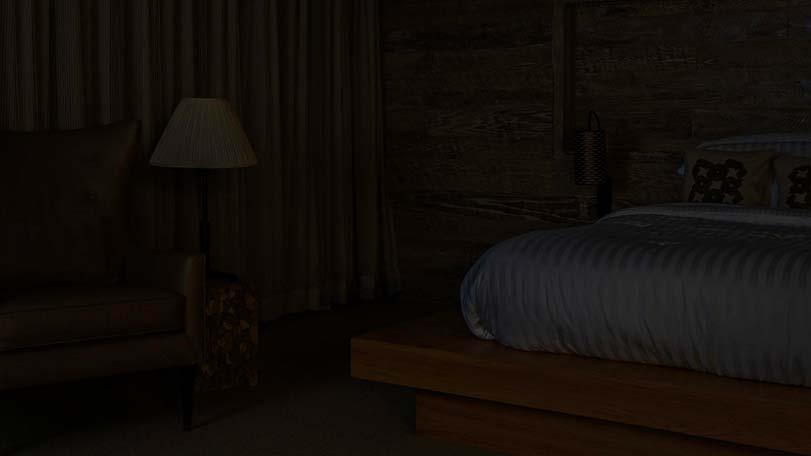 Leviton VRSLZ Vizia RF A Scene Capable Switch WhiteIvory - Bedroom lights off