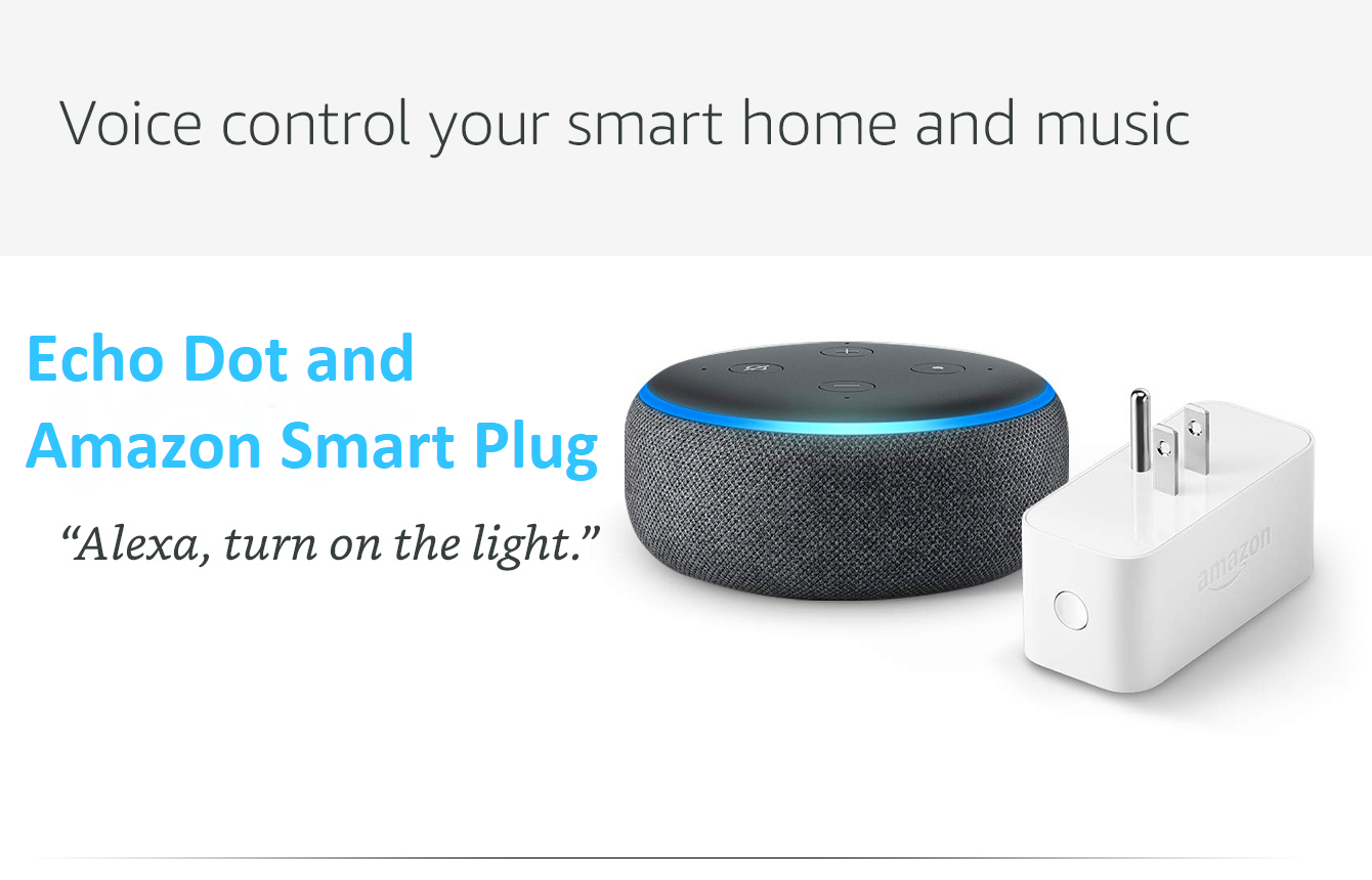 "Echo Dot: ""Alexa, turn on the light"""