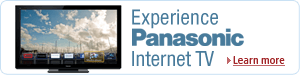 Panasonic VIERA Internet-Connected HDTVs, Blu-ray Players, and Home Theater Systems
