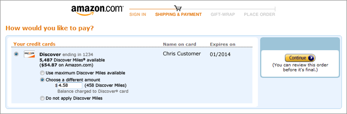 amazon us pay with foreign credit card