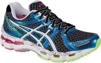 womens asics gel-kayano 19 running shoes white