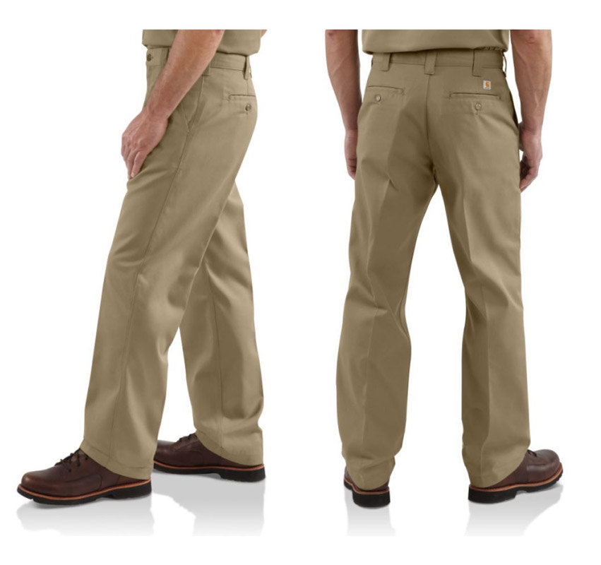 Amazon.com: Carhartt Men's Blended Twill Work Chino Pant B290 ...