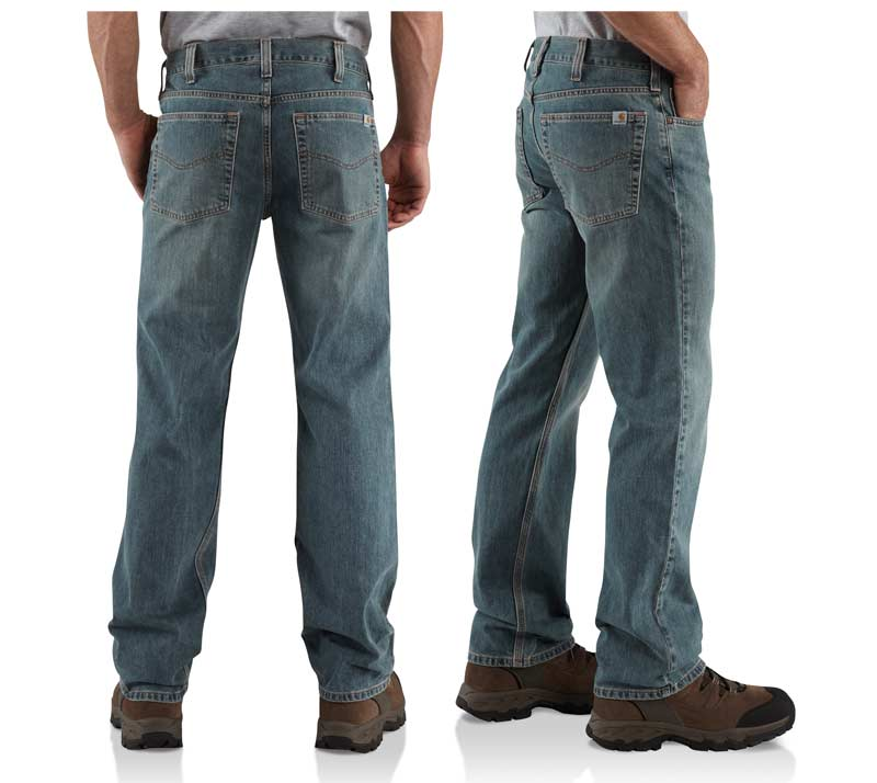 Amazon.com: Carhartt Men's Relaxed Straight Leg Five Pocket Jean ...