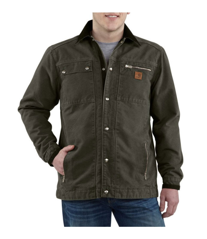 Carhartt Men 39 S Big Tall Quilted Flannel