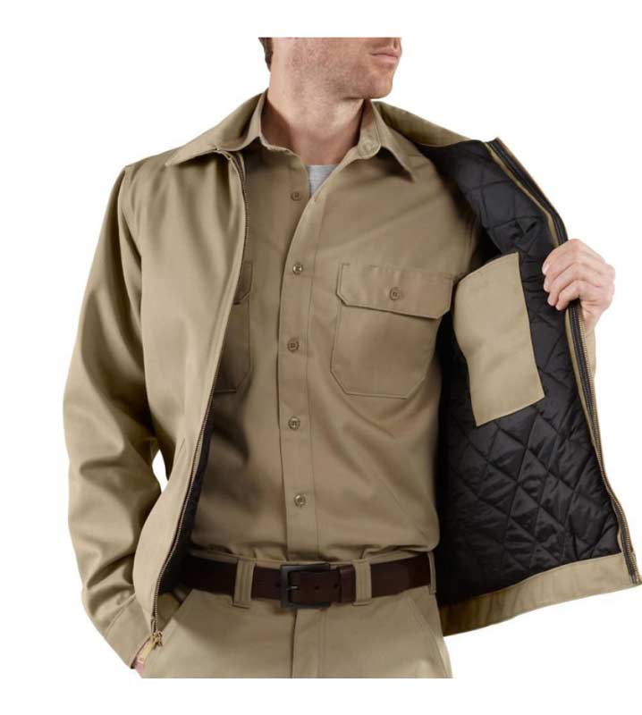 Amazon.com: Carhartt Men's Big & Tall Twill Work Jacket: Work ... : carhartt quilt lined jacket - Adamdwight.com