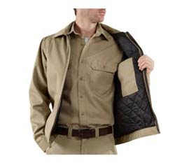 Carhartt Men's Tall Twill Work Jacket Product Shot