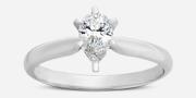 Buy Marquise Stone Shape Wedding Rings