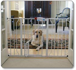 Carlson Extra Wide Walk Through Pet Gate Product Shot