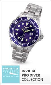 Shop Invicta Pro Diver Collection