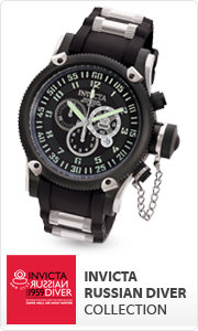 Shop Invicta Russian Diver Collection