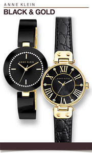 Anne Klein Black & Gold