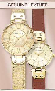 Anne Klein Genuine Leather