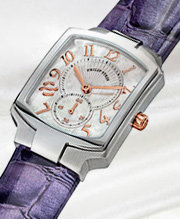 Classic: Classic designs for a contemporary wearer featuring sleek steel and tonal cases, sapphire coated mineral crystals, fashionable mother of pearl dials set off by diamond accents and a variety of interchangeable straps and bracelets.