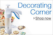 Find all your baked goods decorating needs at the Decorating Corner