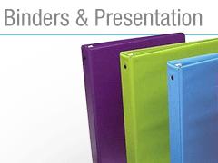 Binders & Presentation