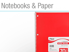 Notebooks & Paper