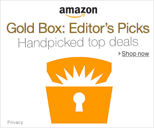 Gold Box - Editor's Picks
