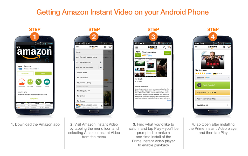 A Kindle World Blog Amazon App For Android Phone Finally